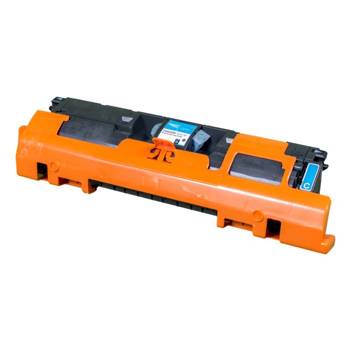 Картридж лазерный SAKURA SAC9701A (C9701A), голубой, 4000 страниц, совместимый, для CLJ 1500/2500 series