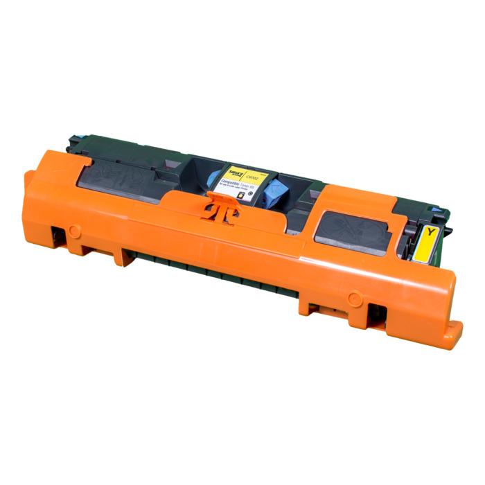 Картридж лазерный SAKURA SAC9702A (C9702A), желтый, 4000 страниц, совместимый, для CLJ 1500/2500 series