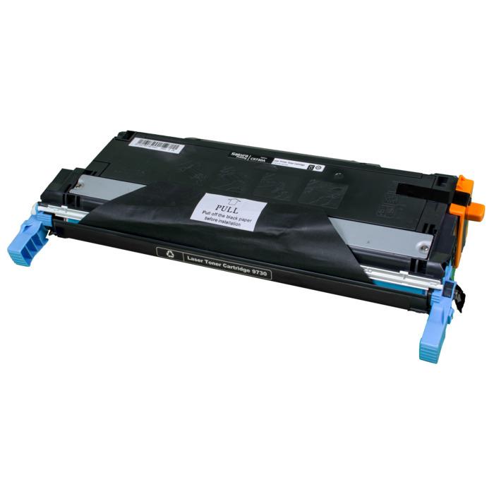 Картридж лазерный SAKURA SAC9730A (C9730A), черный, 12000 страниц, совместимый, для LJ 5500/555