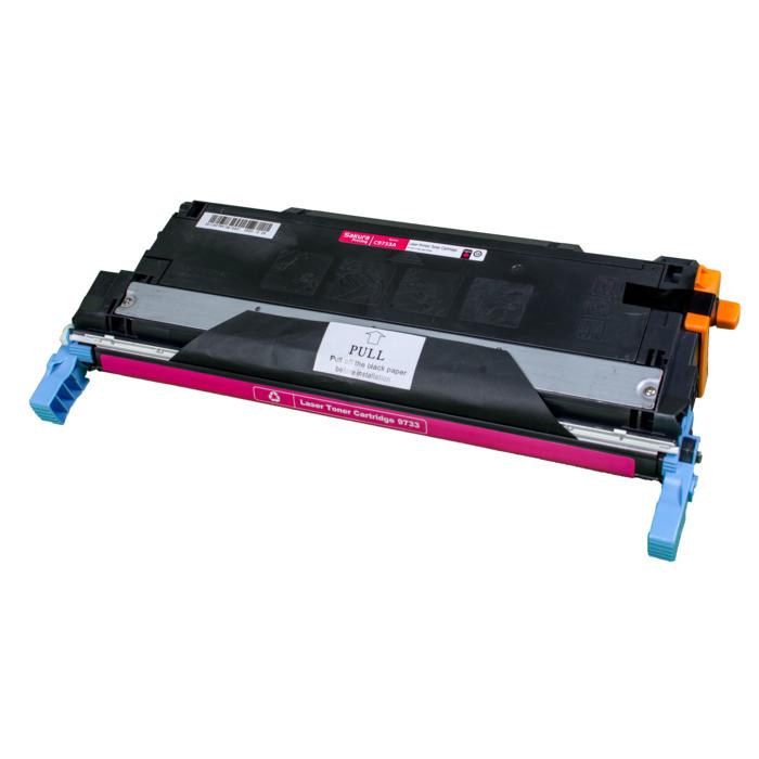 Картридж лазерный SAKURA SAC9733A (C9733A), пурпурный, 12000 страниц, совместимый, для LJ 5500/558