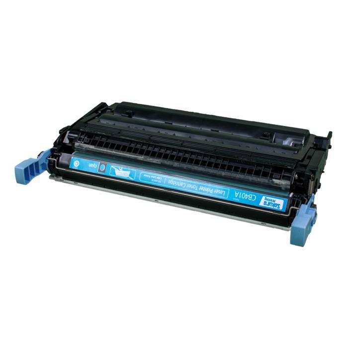 Картридж лазерный SAKURA SACB401A (CB401A), голубой, 7500 страниц, совместимый, для CLJ CP4005/CP4005n/CP4005dn
