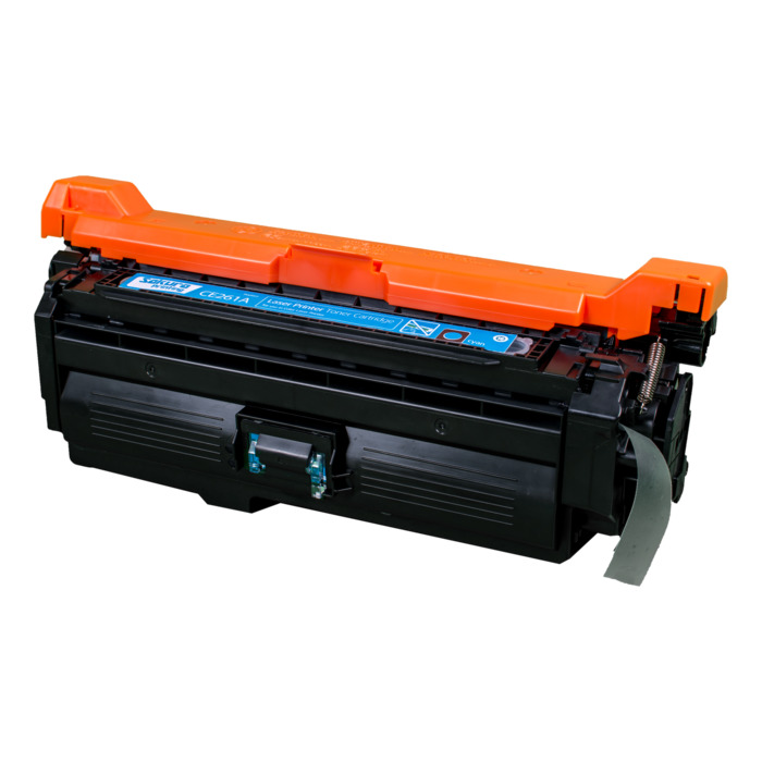 Картридж лазерный SAKURA SACE261A (CE261A), голубой, 11000 страниц, совместимый, для CLJ CP4020/4025/4520/4526