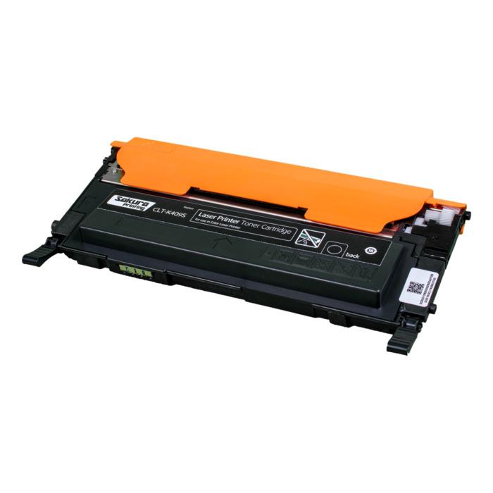 Картридж лазерный SAKURA SACLTK409S (CLTK409S), черный, 1500 страниц, совместимый, для Samsung CLP-310N/315 CLX-3170/3175/3175FN/3175