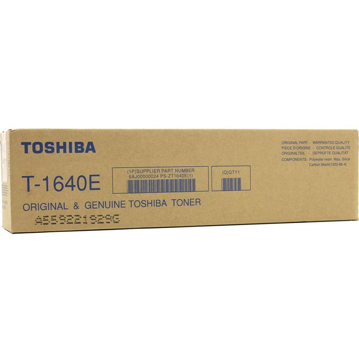 Картридж лазерный Toshiba T-1640E, черный, 1шт., 24000 страниц, оригинальный, для Toshiba e-STUDIO 163 / 165 / 166 / 203 / 205