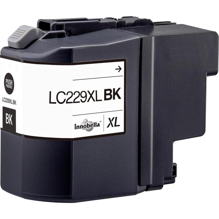 Картридж струйный Cactus CS-LC229XLBK (LC229XLBK), черный, совместимый, 2400 страниц, для Brother MFC-J5320DW / MFC-J5620DW / MFC-J5625DW