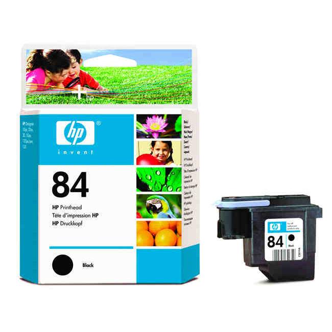 Печатающая головка HP No. 84 Black, для DesignJet 30/90/120/130 (C5019A)
