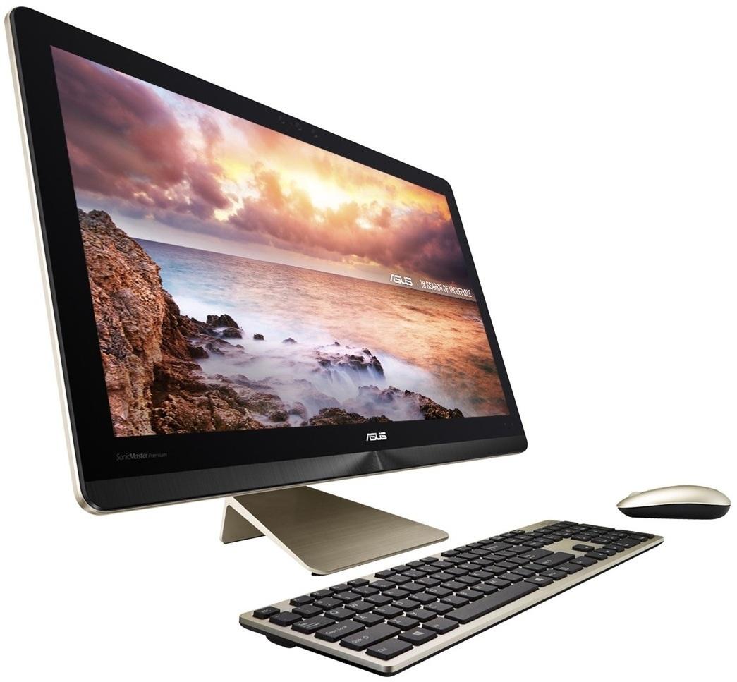 "Моноблок ASUS Zen AIO PRO Z240ICGT-GJ191X 24"" 3840x2160 Touch, Intel Core i7-6700T 2.8GHz, 16Gb RAM, 1Tb HDD+512Gb SSD, GeForce GTX960M-2Gb, WiFi, BT, Cam, W10, черный/золотистый + клавиатура, мышь (90PT01E1-M06040)"