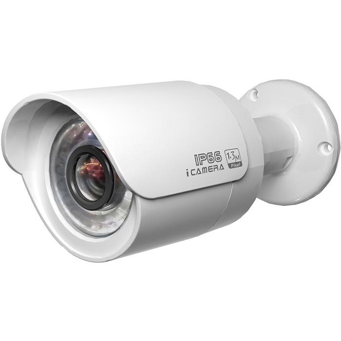 IP-камера DAHUA 2.7мм - 12мм, уличная, корпусная, 2Мпикс, CMOS, до 1920x1080, до 30кадров/с, ИК подсветка 30м, POE, -30 °C/+60 °C, белый (DH-IPC-HFW2200RP-VF)