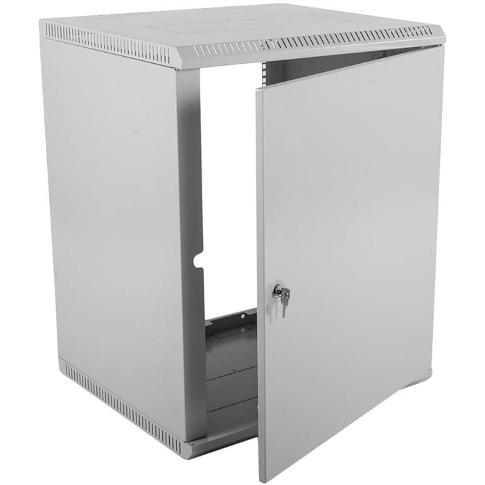 Шкаф настенный 15U 600x650, металл, серый, разборный, ШРН-Э-15.650.1 (30144233711), ЦМО, ШРН-Э