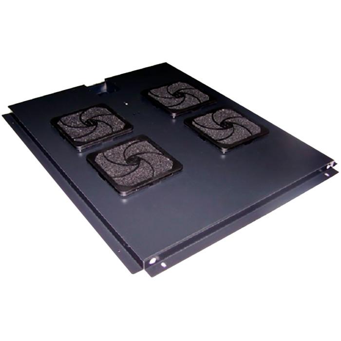 Блок 4-х вентиляторов TWT в крышу шкафа Business глубиной 800мм с подшипниками (TWT-CBB-FANB4-8)