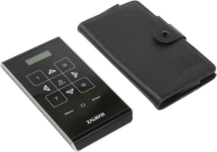 """Внешний бокс Zalman 1x 2.5"""" USB 3.0, черный (ZM-VE500)"""