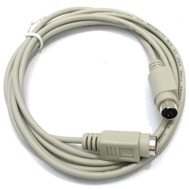 Кабель-удлинитель PS/2(M)-PS/2(F), 1.8m, белый