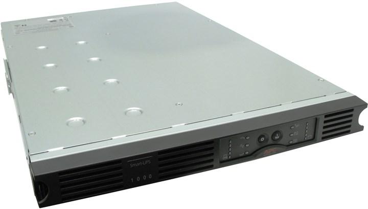 ИБП APC Smart-UPS, 1000VA, 640W, IEC, USB, черный (SUA1000RMI1U)