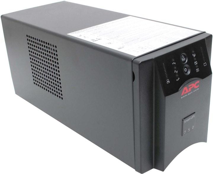 ИБП APC Smart-UPS, 750VA, 500W, IEC, черный (SUA750I)