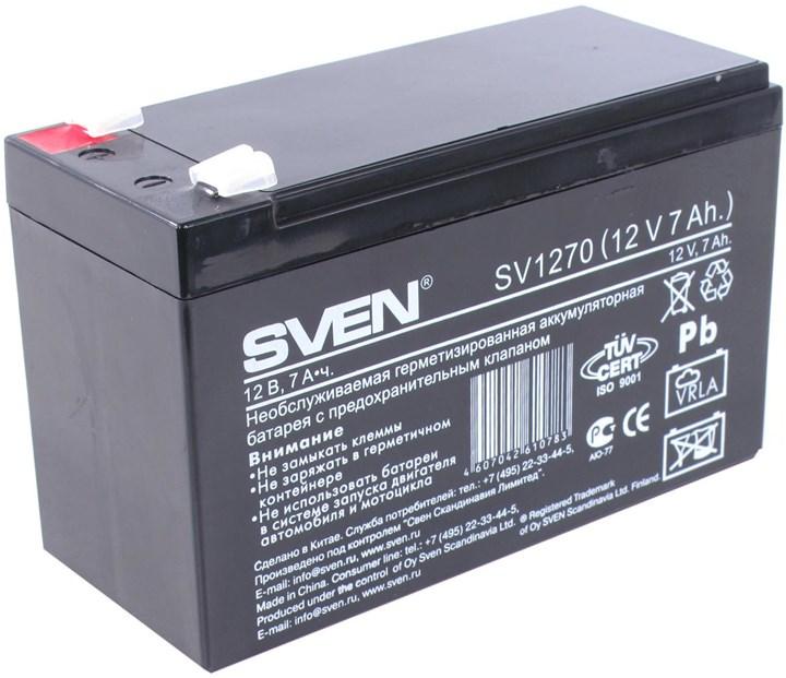 Аккумуляторная батарея Sven SV1270, 12V 7Ah
