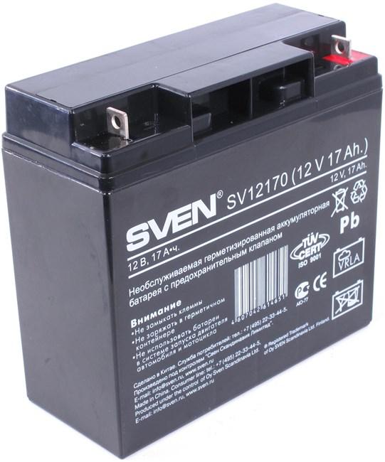 Аккумуляторная батарея Sven SV12170, 12V 17Ah