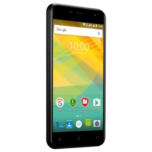 "Смартфон Prestigio Muze B7 5"" 1280x720, IPS, 2Gb RAM, 16Gb, 3G, WiFi, BT, 2x Cam, 2-Sim, 2300mAh, Android 6.x, черный (PSP7511DUOBLACK)"