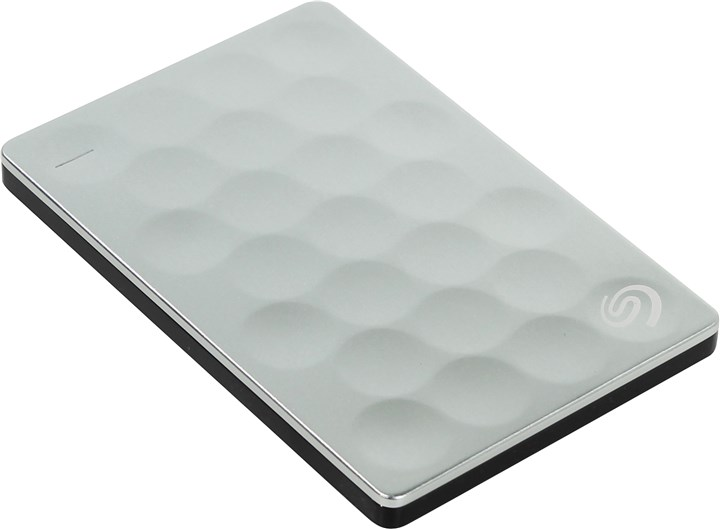 "Внешний жесткий диск (HDD) Seagate 2Tb Backup Plus Ultra Slim, 2.5"", USB 3.0, серебристый (Backup Plus Ultra Slim 2 ТБ)"