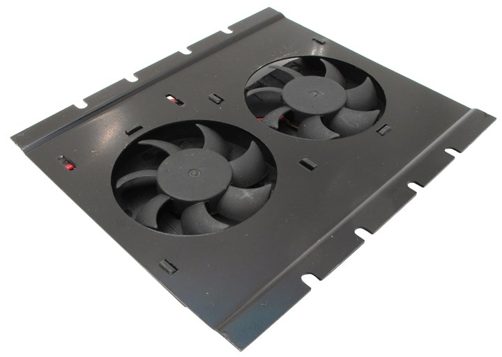 Кулер Gembird HD-A3 for HDD крепление на винчестер, 2 вентилятора (4200rpm, 28.5dB, Подшипник скольжения)
