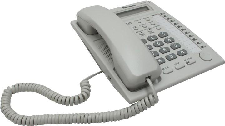 Проводной телефон Panasonic KX-T7730 (аналоговый системный)