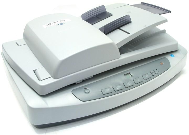 Сканер планшетный HP ScanJet 5590, A4, CCD, 2400x2400dpi, ДАПД 50 листов, 48bit, USB 2.0, (L1910A)