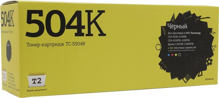 Картридж T2 TC-S504B для Samsung CLP-415/CLX-4195/Xpress C1810W, 2500 стр., черный, с чипом