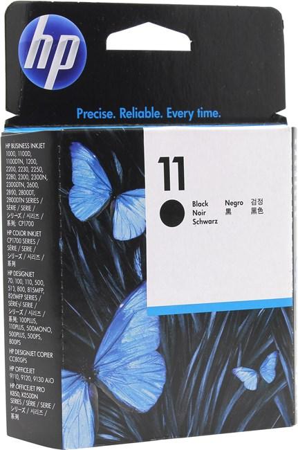 Печатающая головка HP No. 11 Black, для 2200/2250, DesignJet 500/800 (C4810A)