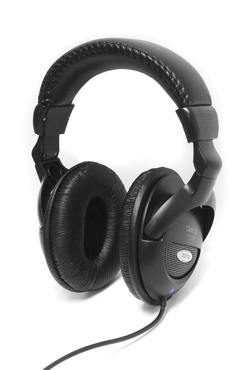Проводные наушники Dialog M-801HV, mini jack 3.5 mm, черный