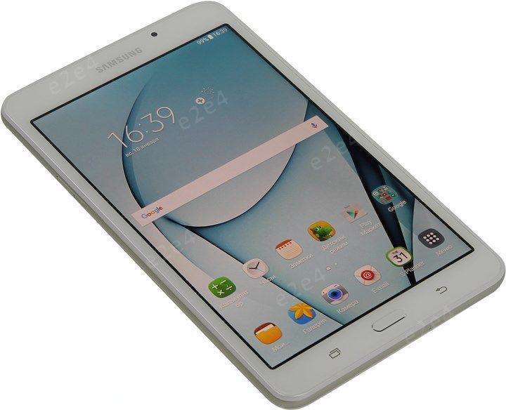 "Планшет Samsung Galaxy Tab A (2016) 7"" 1280x800, TN, SC8830, 1.5Gb RAM, 8Gb, WiFi, BT, 2xCam, 4000mAh, Android 5.x, белый (SM-T280NZWASER)"