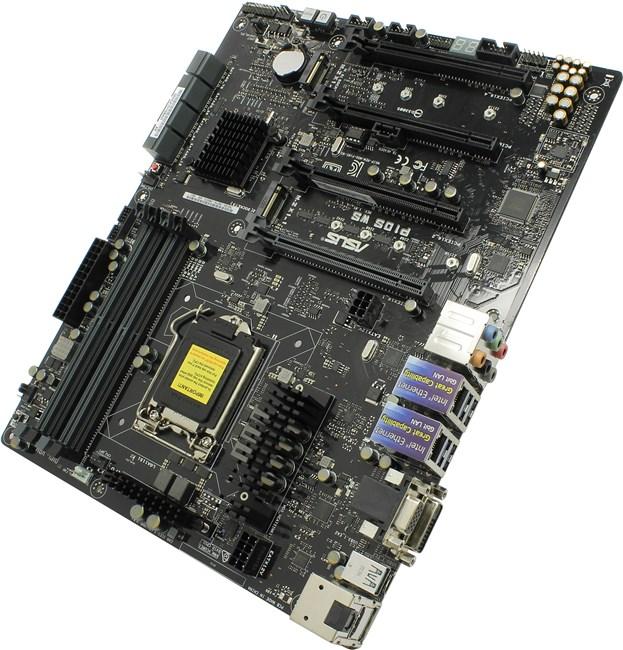 Материнская плата ASUS P10S WS, Socket1151, iC236, 4DDR4-2133MHz, 4PCI-Ex16, 8xSATAIII, 2xM.2, 2GLAN, 4xUSB 3.0/2xUSB 3.1, HDMI/DP/DVI/VGA, ATX, Retail