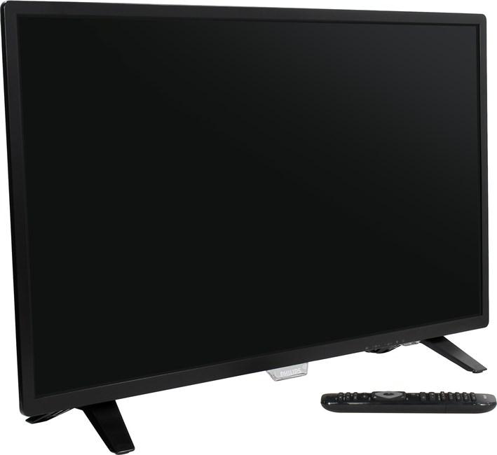 "Телевизор 32"" Philips 32PHT4001, 1366x768, DVB-T2 /C, USBx1, черный"