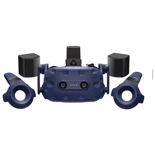 Очки виртуальной реальности HTC Vive Pro Full Kit, синий (99HANW006-00)