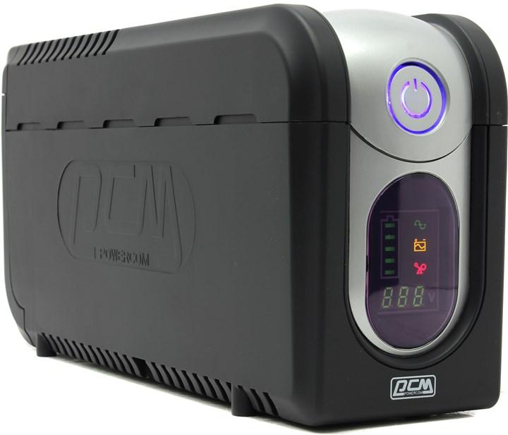ИБП Powercom Imperial 525, 525VA, 315W, IEC, черный (IMD-525AP)