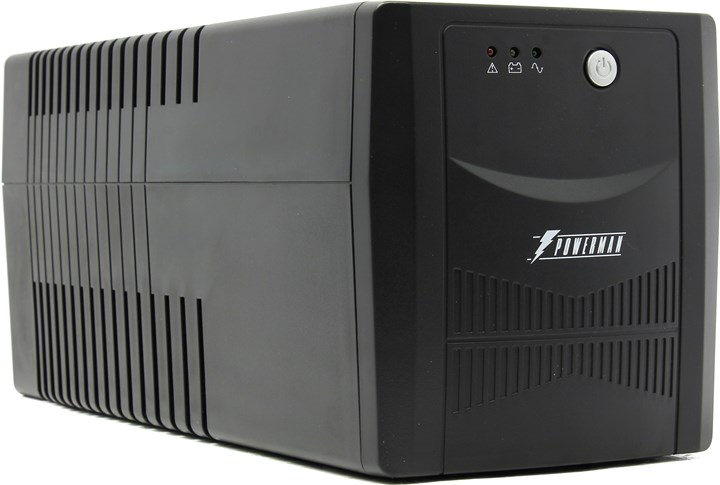 ИБП Powerman Back Pro 1000 Plus, 1000VA, 680W, IEC, черный