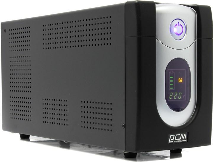 ИБП Powercom Imperial 2000, 2000VA, 1200W, IEC, черный (IMD-2000AP)