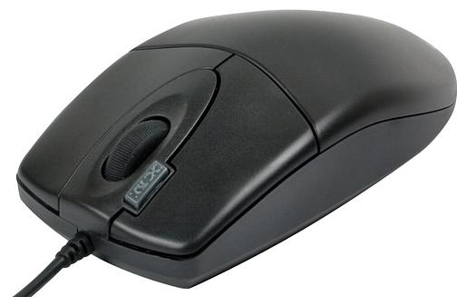Мышь проводная A4Tech OP-620D, 800dpi, оптическая светодиодная, USB, черный