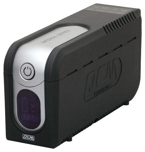 ИБП Powercom Imperial 825, 825VA, 495W, IEC, черный (IMD-825AP)